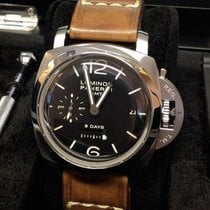 Panerai Luminor 1950 8 Days GMT Steel 44mm Black Arabic numerals United Kingdom, Wilmslow