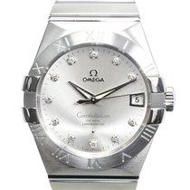 Omega Constellation Men Steel 38mm Silver