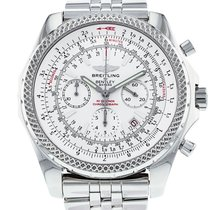 Breitling 48.8mm Automatic 2008 pre-owned Bentley Motors White