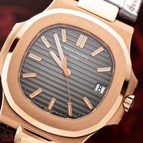 Patek Philippe Nautilus Ref-5711R 18k Rose Gold Box Papers...