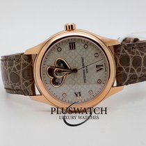Frederique Constant FC-310LGDHB3B4 Steel Ladies Automatic Double Heart Beat 36mm new