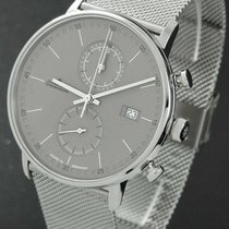 Junghans Steel Quartz 40mm pre-owned FORM C