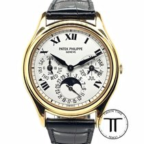 Patek Philippe Yellow gold Automatic White Roman numerals 36mm new Perpetual Calendar