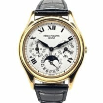 Patek Philippe Perpetual Calendar Yellow gold 36mm White Roman numerals United States of America, New York, New York