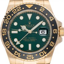 Rolex 116718 LN Yellow gold 2007 GMT-Master II 40mm pre-owned