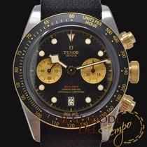帝陀 金/鋼 41mm 自動發條 Tudor 79363N 新的