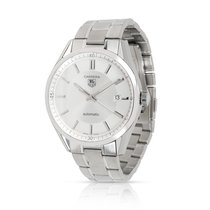 TAG Heuer Carrera Calibre 5 pre-owned 39mm Silver Steel