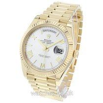 Rolex Day-Date 40 Yellow gold 40mm White Roman numerals United Kingdom, London