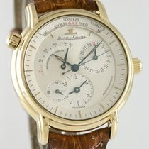 Jaeger-LeCoultre Master Geographic Ouro amarelo 37mm Prata