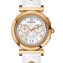 Versace Gold/Steel 40mm Quartz VA903 0013 new United States of America, New York, New York