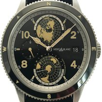Montblanc 42mm Automatisk 117837 ny