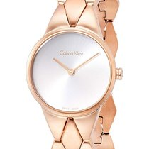 ck Calvin Klein Steel 28mm Quartz K6E23646 new