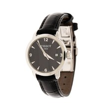 Tissot Stahl Quarz Tissot Black Stainless Steel T-Classic Everytime T057210A gebraucht