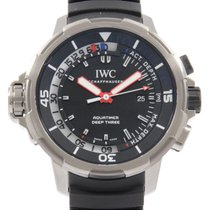 IWC Aquatimer Deep Three 47.5mm Black