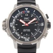 IWC Aquatimer Deep Three 47.5mm Schwarz