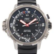 IWC Aquatimer Deep Three 47.5mm Чёрный