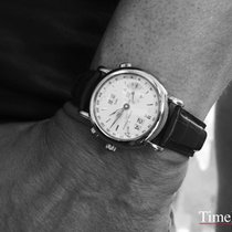 Ulysse Nardin GMT +/- Perpetual White gold 38,5mm Silver