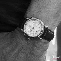 Ulysse Nardin GMT +/- Perpetual Белое золото 38,5mm Cеребро
