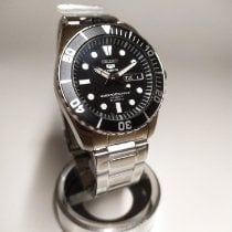 Seiko SNZF17K1 Steel 5 Sports 41mm new
