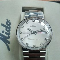 Mido Steel 37mm Automatic Commander pre-owned Singapore, 730314