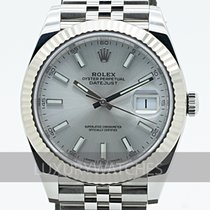 Rolex Datejust Gold/Steel 41mm Silver