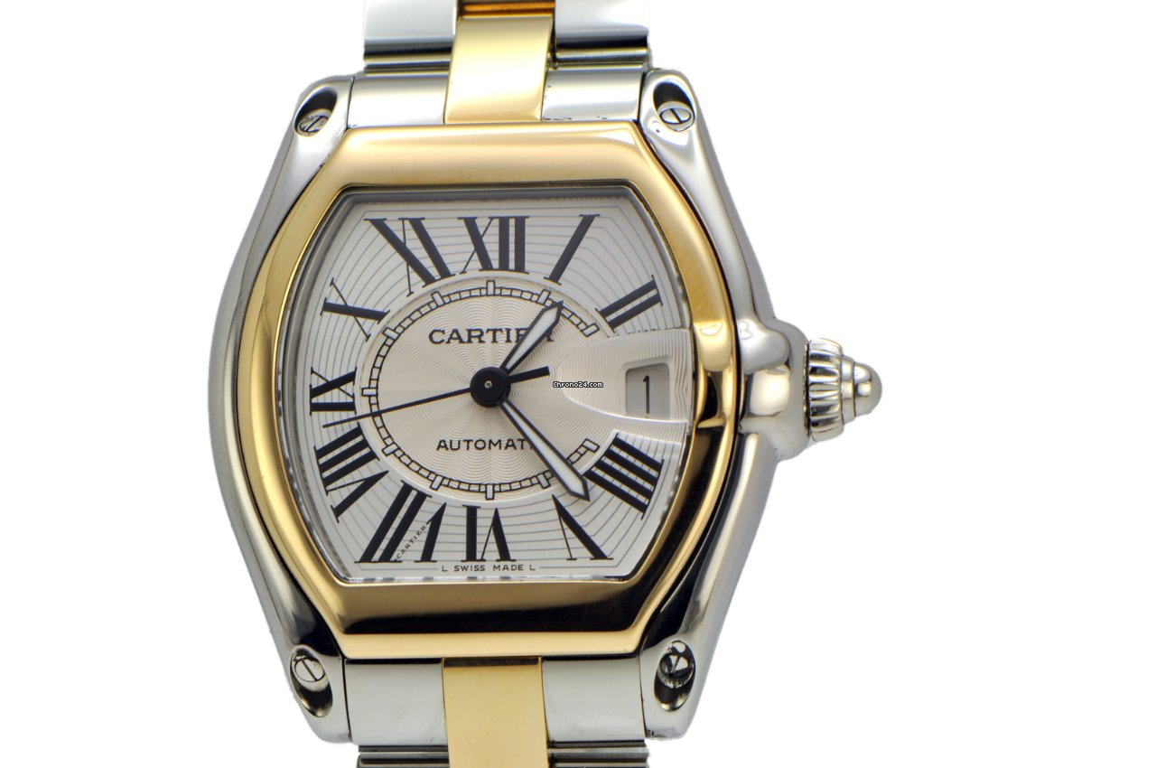 2b9692ee481 Cartier Roadster 2-tone for  6