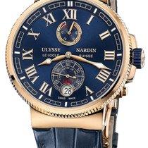 Ulysse Nardin Marine Chronometer Manufacture 1186-126/43 Unworn Rose gold 43mm Automatic