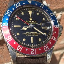 Rolex GMT-Master 1675 Gilt Chapter Ring Exclamation Point PCG
