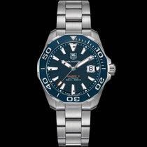 TAG Heuer Aquaracer 300M WAY211C.BA0928 Tag Heuer Aquaracer Calibre 5 Quadrante Blu 2017 new
