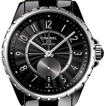 Chanel H3836 J12-365 36mm Automatic in Black Ceramic with...