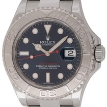 Rolex : Yacht-Master :  116622 :  Stainless Steel : blue dial