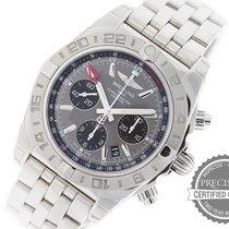 Breitling Chronomat 44 GMT Steel 44mm Grey No numerals