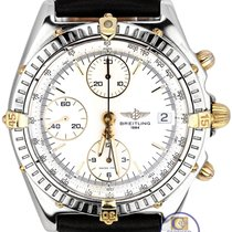 Breitling Chronomat Chronograph Two-Tone Gold Stainless B13050...