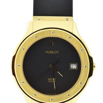 Hublot Yellow gold Quartz Black 39mm pre-owned Classic