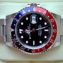 Rolex [NEAR-NOS+B+P+NO-HOLE+SERVICE] GMT Master II PEPSI - 2004