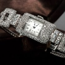 Vacheron Constantin Rare 1920s Platinum 20Carat Diamond Set...