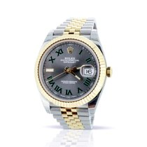 Rolex Datejust II 126333 - 41MM - Box & Papers - Wimbledon Dial