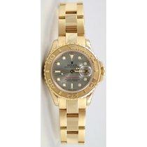 Rolex Yacht-Master 169628 Новые Желтое золото