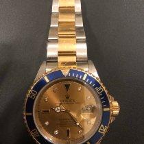 Rolex Submariner Date folosit Aur/Otel