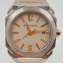Bulgari Octo usado 38mm Ouro/Aço