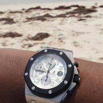 Audemars Piguet Royal Oak Offshore Chronograph Steel 42mm Black Arabic numerals Singapore, SINGAPORE
