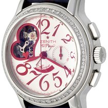 Zenith El Primero Chronomaster Lady Steel 37mm White Arabic numerals United States of America, Texas, Dallas