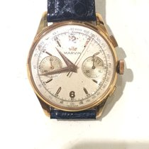 Marvin Yellow gold 32mm Manual winding 3905 Marvin pre-owned