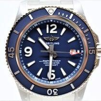 Breitling Superocean 44 Steel 44mm Blue Arabic numerals