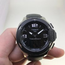 Tissot T-Race Touch Acero 42.2mm Negro