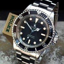 Rolex Submariner Steel 40mm Black