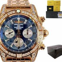 Breitling Chronomat 44 Rose gold 44mm Blue United States of America, New York, Smithtown