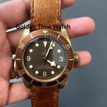 帝舵 Black Bay Bronze 青铜 43mm 棕色 阿拉伯数字
