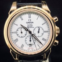Omega De Ville Co-Axial Or rose 41mm Blanc Romain