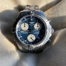 Breitling Colt Chronograph Staal 38mm Blauw Geen cijfers Nederland, Woubrugge